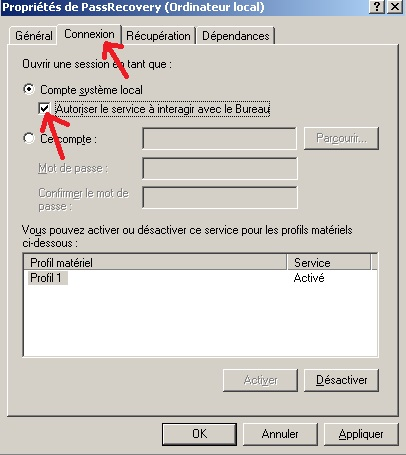 R initialiser mot de passe admin du domaine perdu oubli for Fenetre dos windows 8